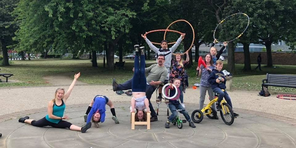 Stilts, headstands and hula hoops