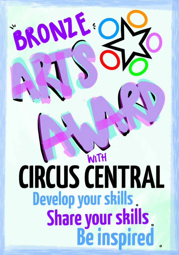 Arts award booklet cover