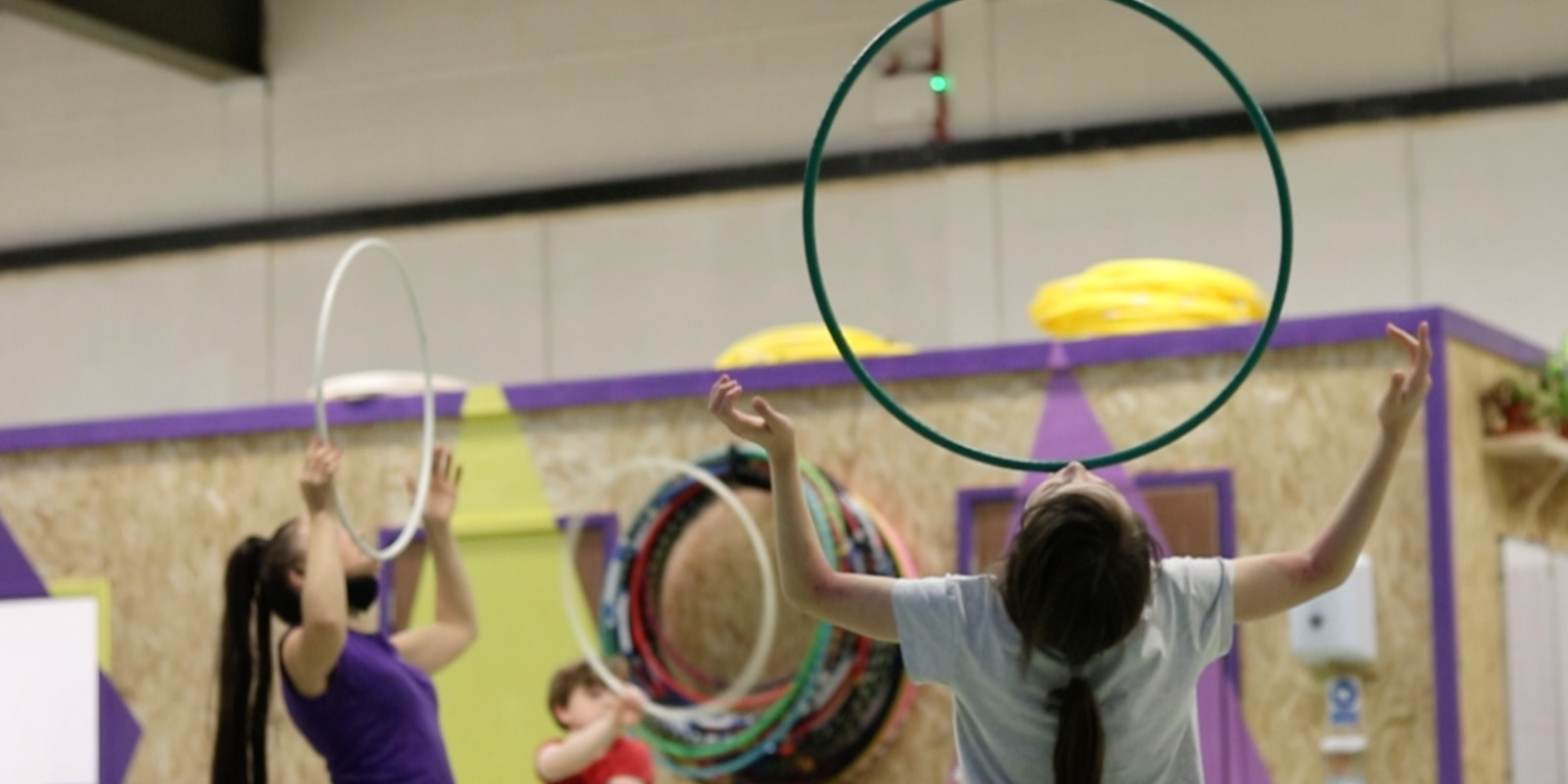 Circus Central activities at Mill Lane